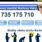 Služby hodinového manžela – Karlovy Vary