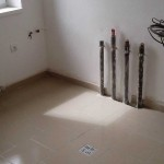 Pokládka dlažby na anhydritovou podlahu