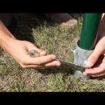 Použití zemních vrutů pro oplocení