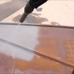 Odstranění koroze pískováním
