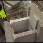 Stavba plotové stěny pomocí stavebnicového systému