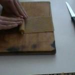 Výroba svíček ze včelího vosku