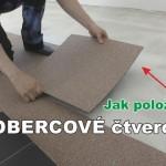 Jak pokládat kobercové čtverce