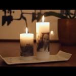 Svíčka s fotografií