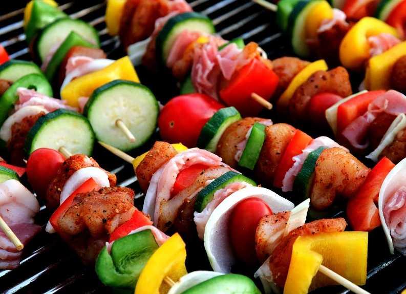 Zelenina na grilu může být velmi chutná, pixabay.com
