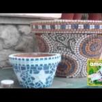 Mozaikové květináče
