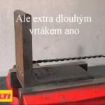 Dlouhý HSS vrták na ocel, plast i kov