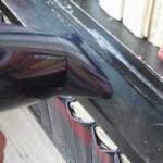Odstranění vosku fénem