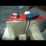 Práce s elektrickým tesařským hoblíkem