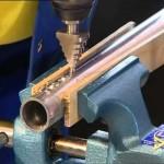 Vrtání kulatého otvoru do kulaté alu trubky