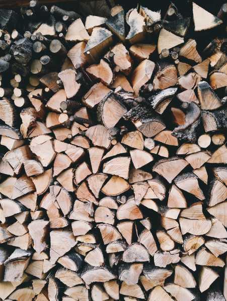Dřevo skladujte co nejdál od domu, pexels.com