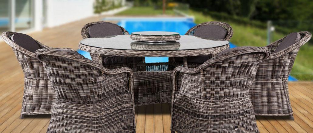 umělý ratanový nábytek