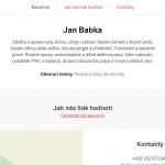Hodinový manžel Jan Babka – Klatovy