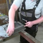 Sestavení instalační sady posuvné brány