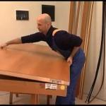 Dřevěné dveře do jednokřídlého pouzdra s obložkou