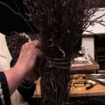 Pletení březových košťat