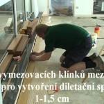 Pokládka bambusové masivní podlahy
