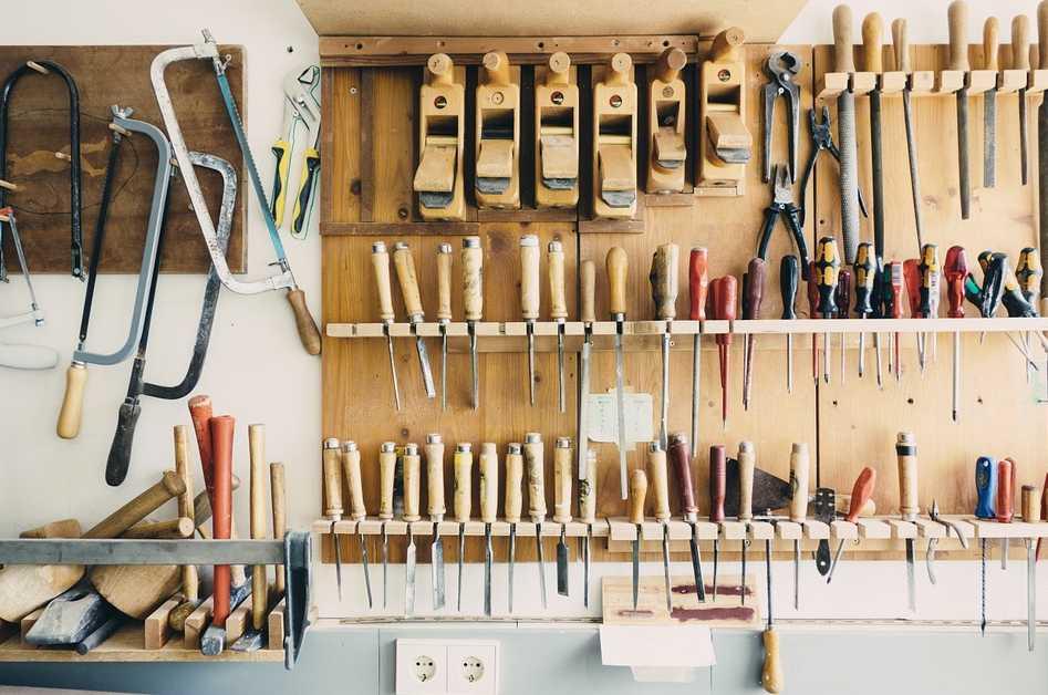 I tak může vypadat dílna pro práci se dřevem, pixabay.com