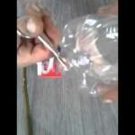 Plašič krtků z PET lahve