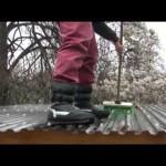 Střecha z polykarbonátových desek