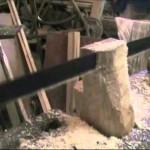 Zcela ručně vyrobená dřevěná kuksa
