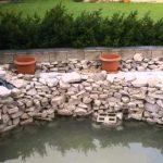 Přestavte kulatý bazén na jezírko