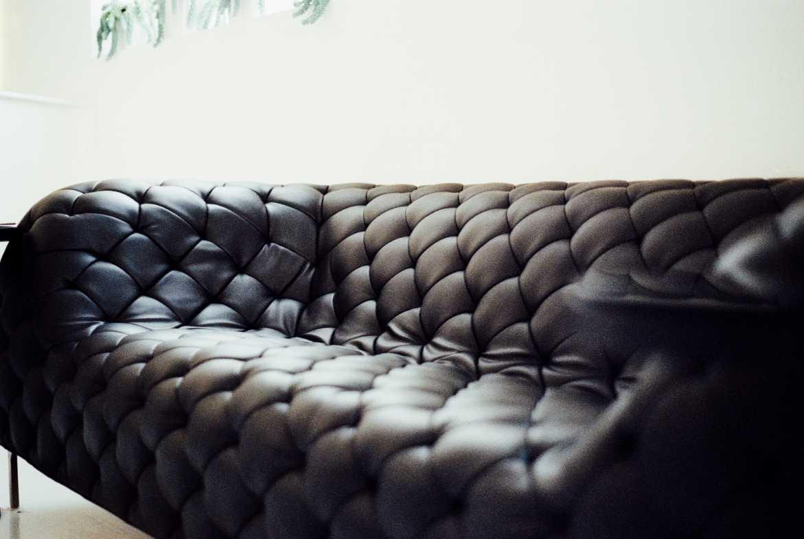 Kožený nábytek vyčistí ocet a olej, pexels.com