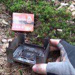 Mini lihový vařič nejen do přírody