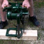 Řetězová dlabačka do dřeva