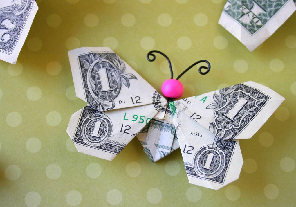 Skládání do různých tvarů, které je tolik populární v USA, kvůli poškození bankovky nedoporučujeme, pixabay.com